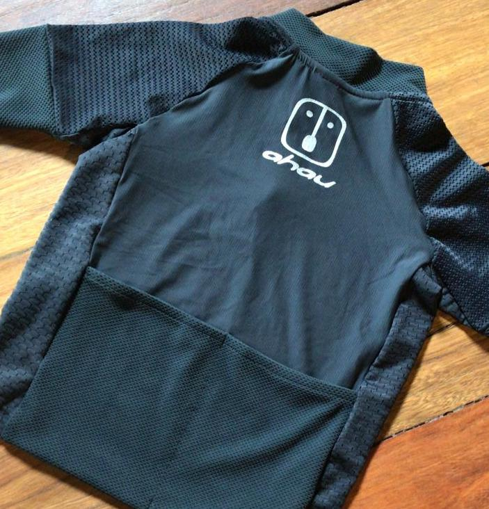 Camisa Ciclismo Black Tie Kid's Unissex