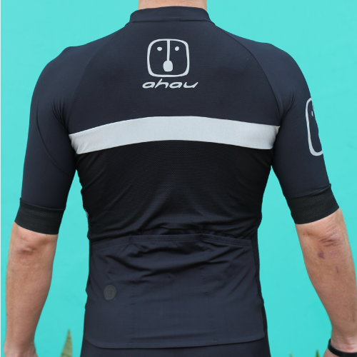 Camisa Ciclismo Black Tie Silver - Masculina