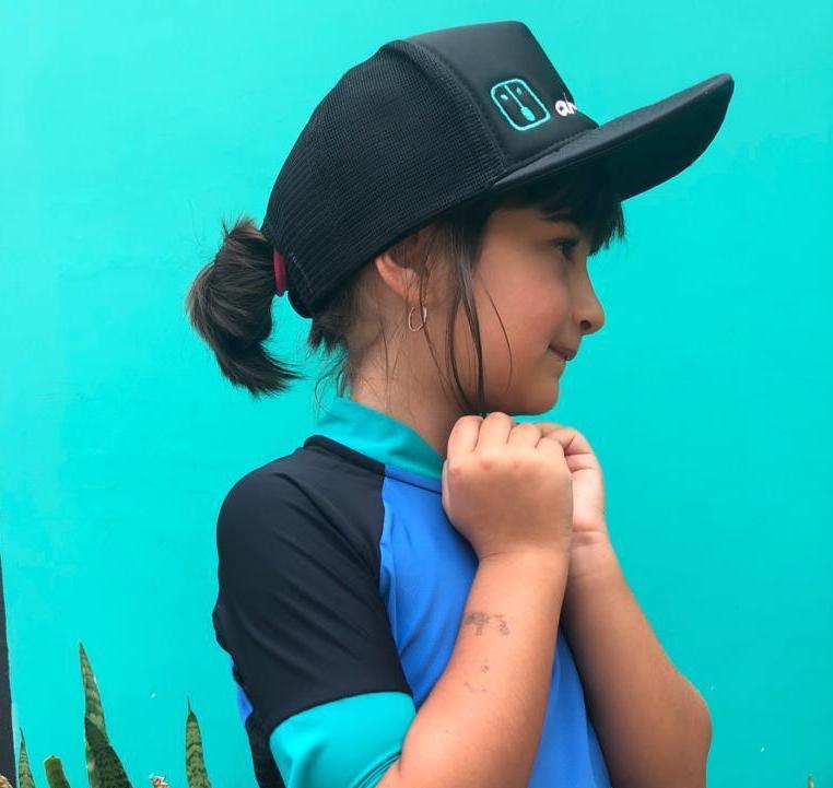 Camisa Ciclismo Blue /  Jade / Black Kid's Unissex