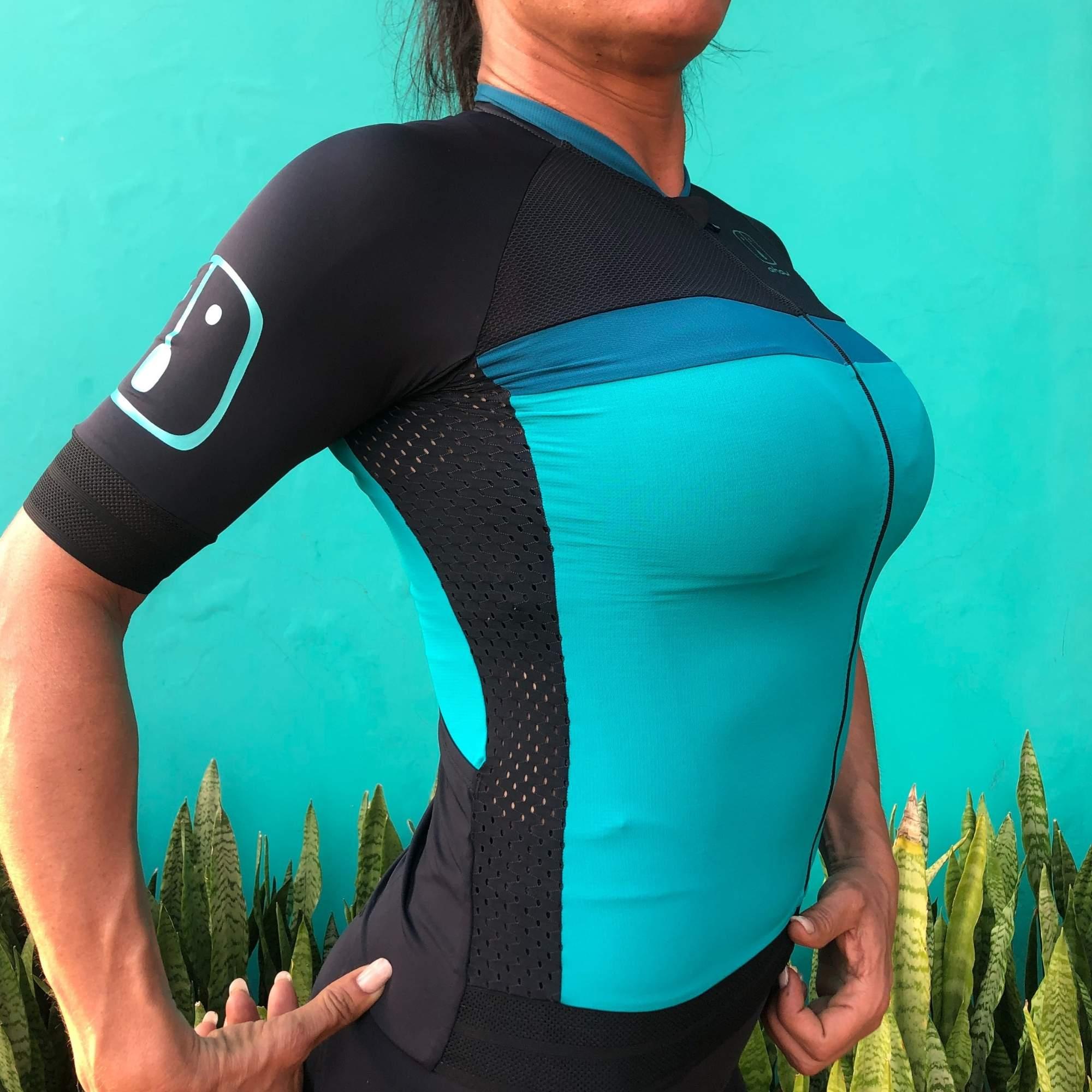 Camisa Ciclismo Jade SKIN - Feminina