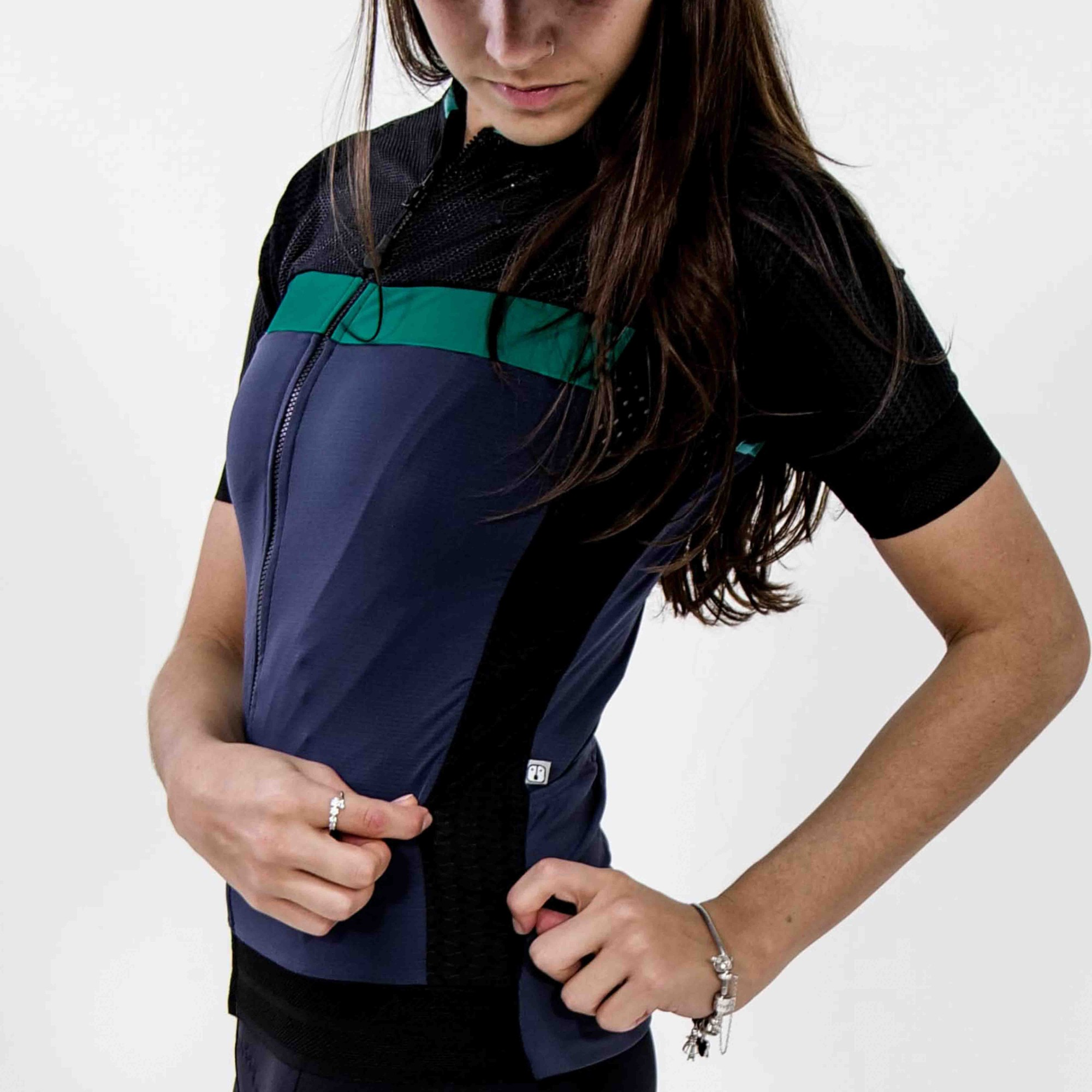 Camisa Ciclismo Navy SKIN