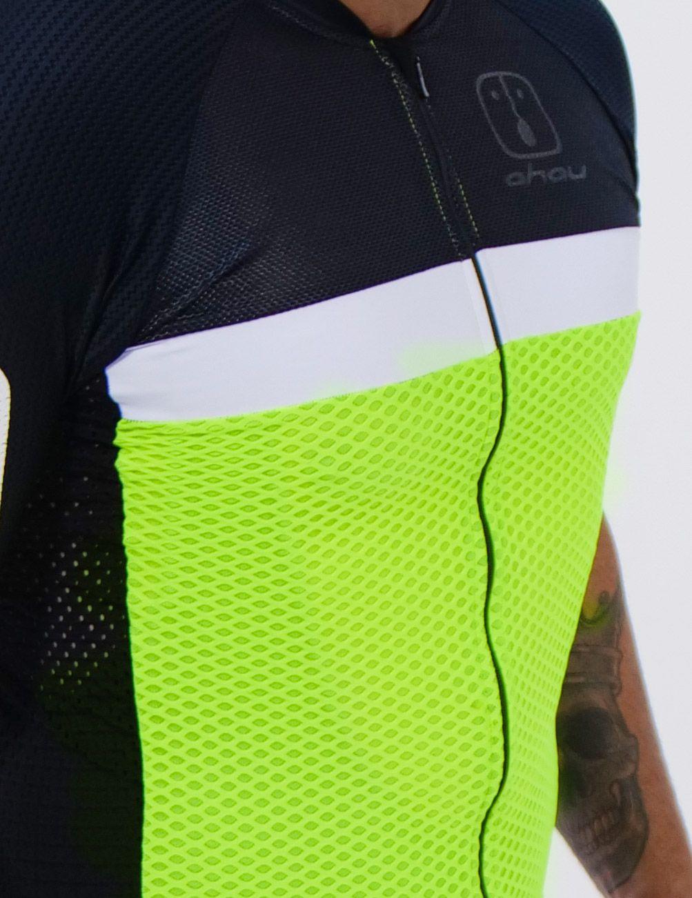 Camisa Ciclismo Label Neon SKIN - Feminina