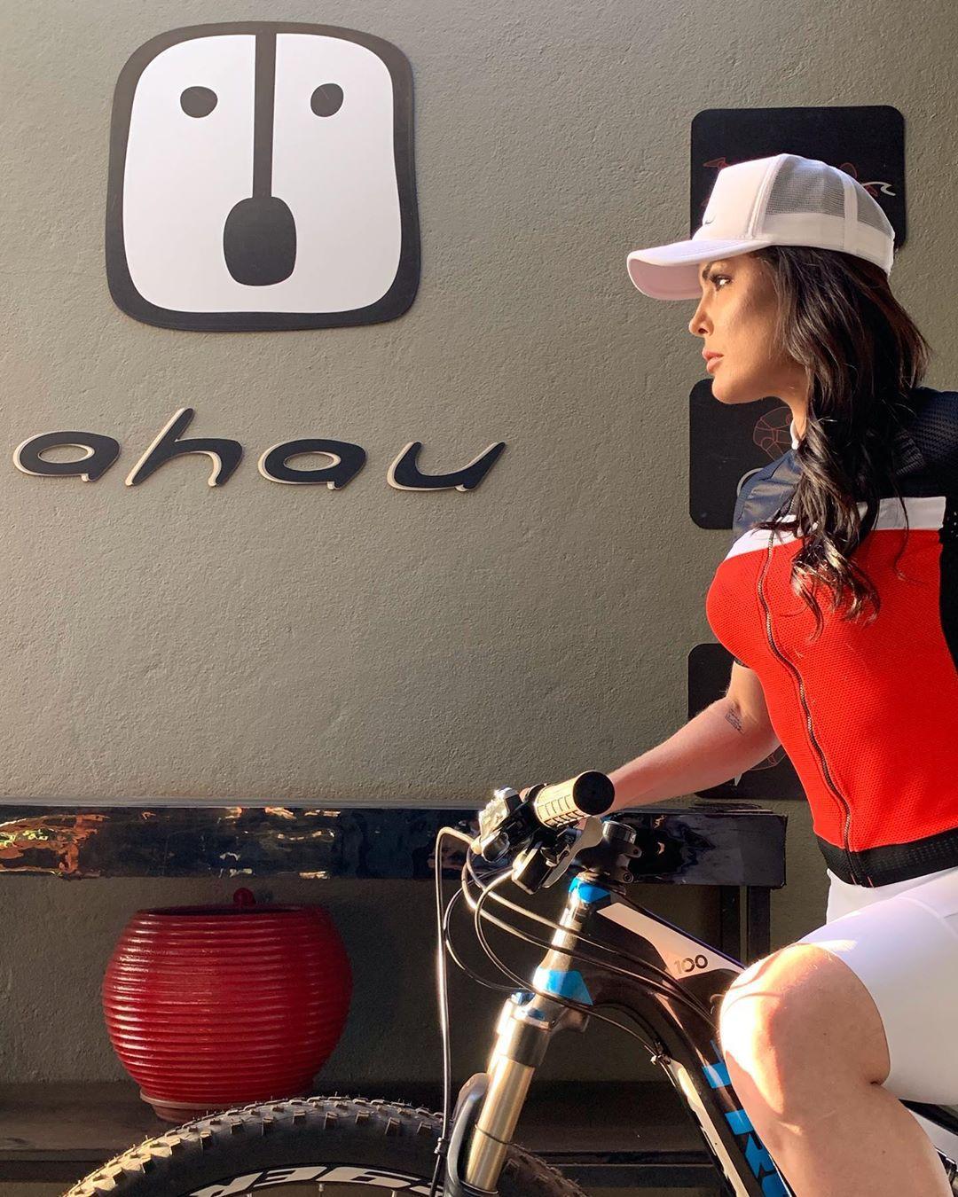 Camisa Ciclismo Wine SKIN - Feminina