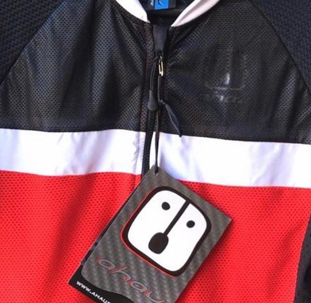 Camisa Ciclismo Wine SKIN - Masculina
