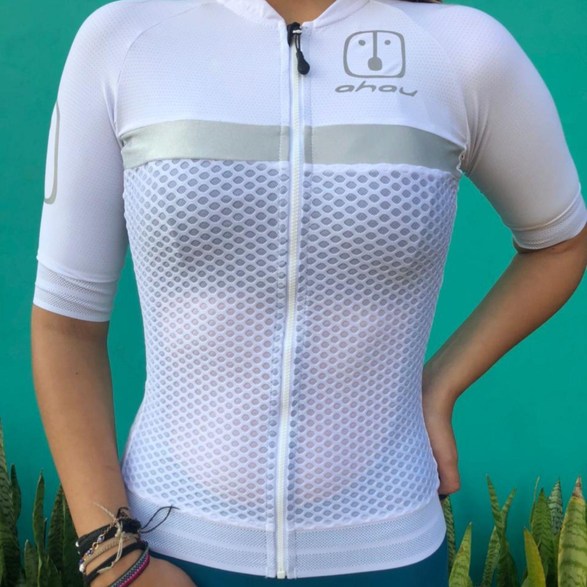 Camisa Ciclismo Luz Silver - Feminina