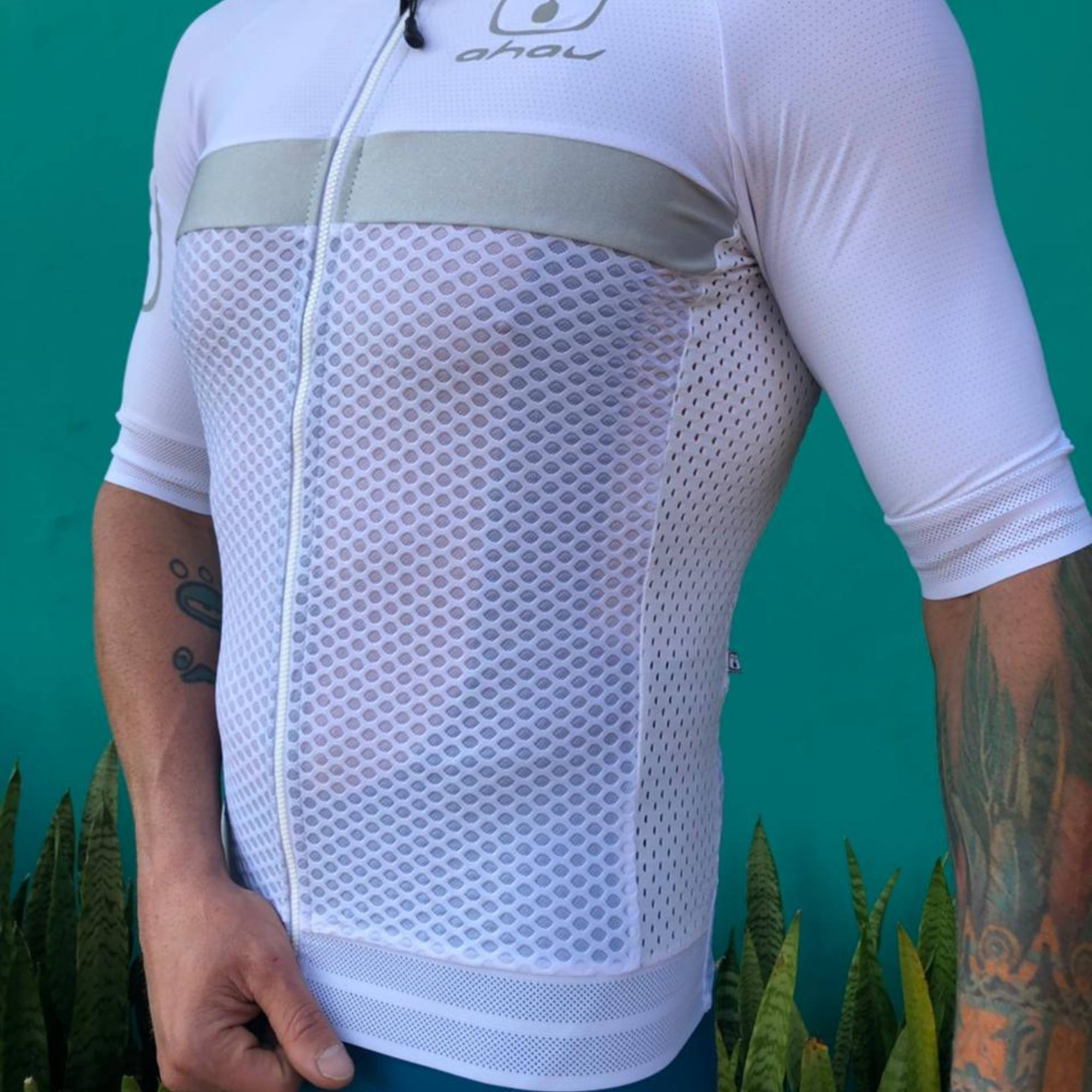 Camisa Ciclismo Luz Silver - Masculina