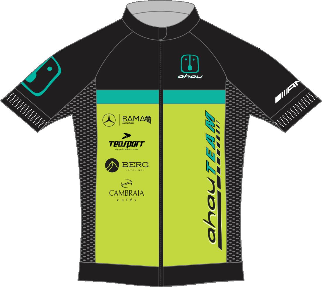 Camisa Ciclismo Manga Curta EVO AHAU TEAM - KIT