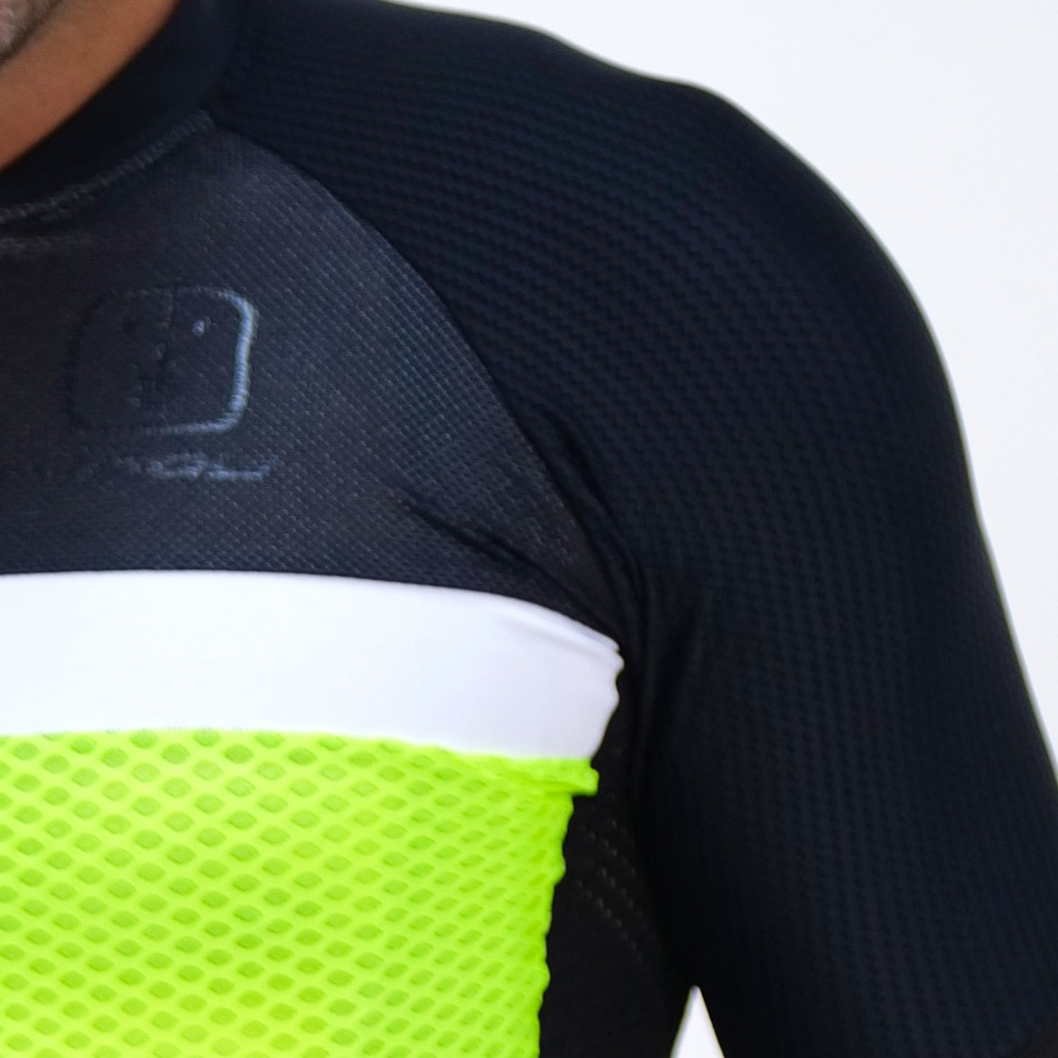 Camisa Ciclismo Neon SKIN - Masculina