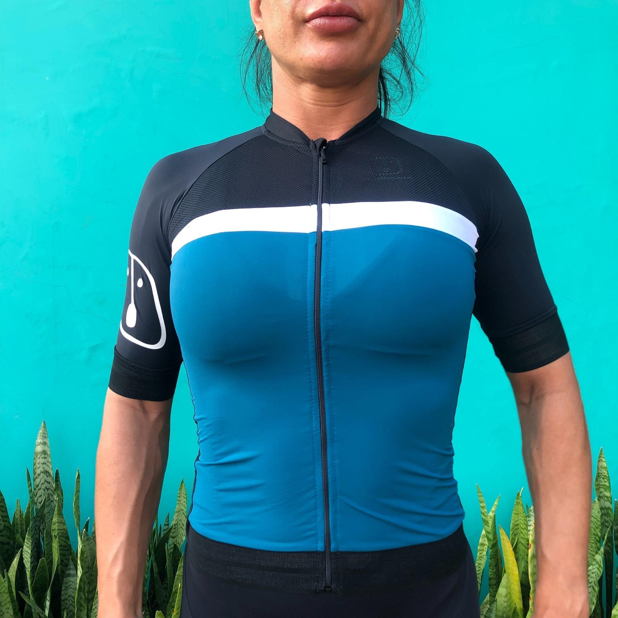 Camisa Ciclismo Olive SKIN - Feminina