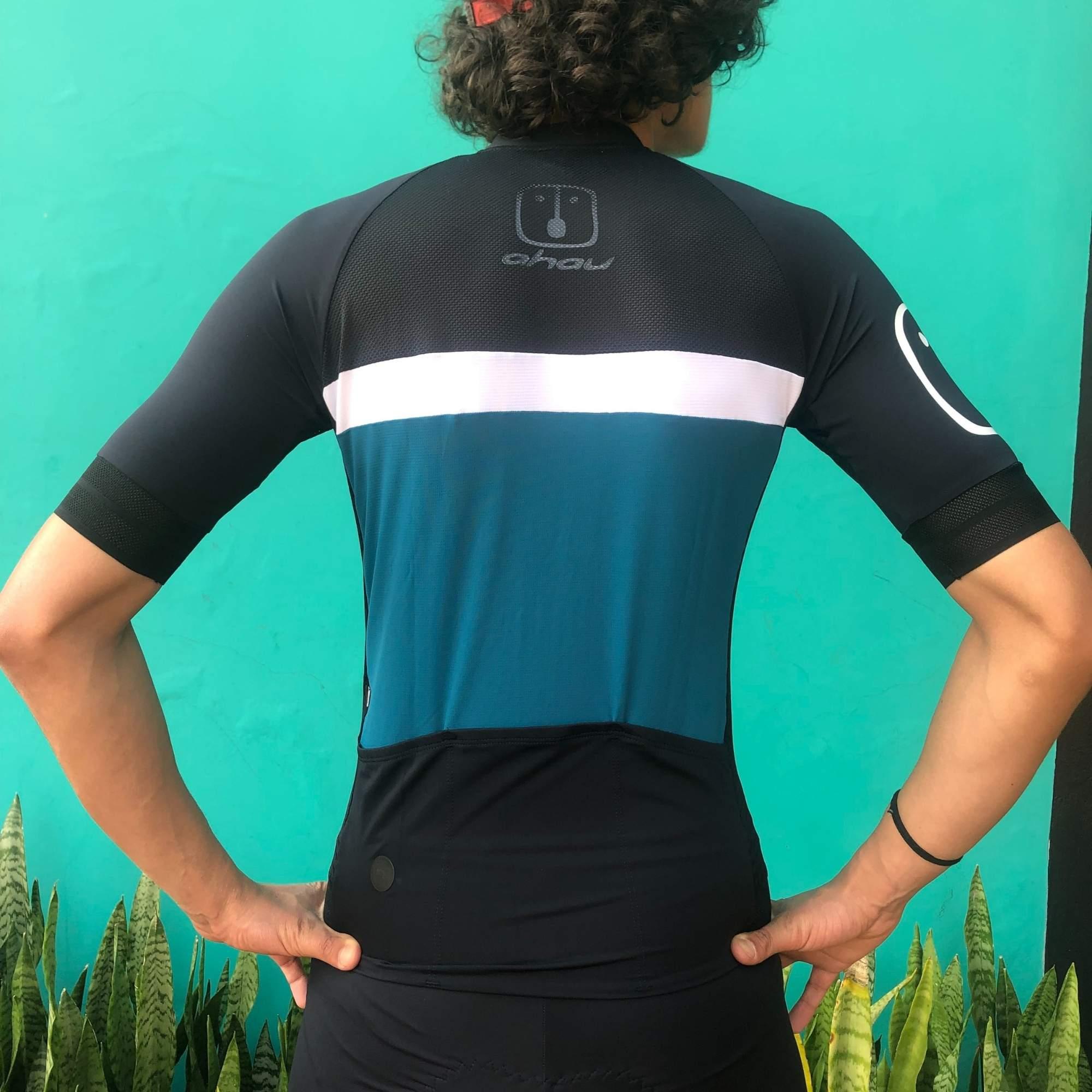 Camisa Ciclismo Olive SKIN - Masculina