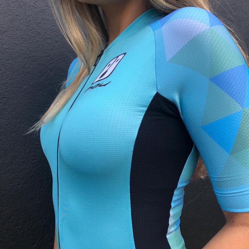 Camisa Ciclismo PES Jade - Feminina
