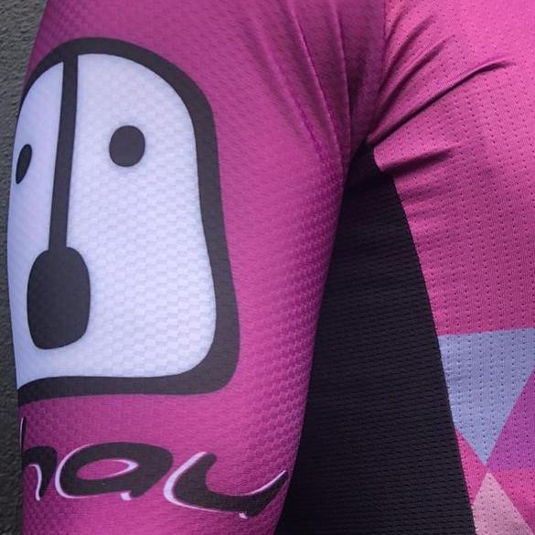 Camisa Ciclismo PES Roxa