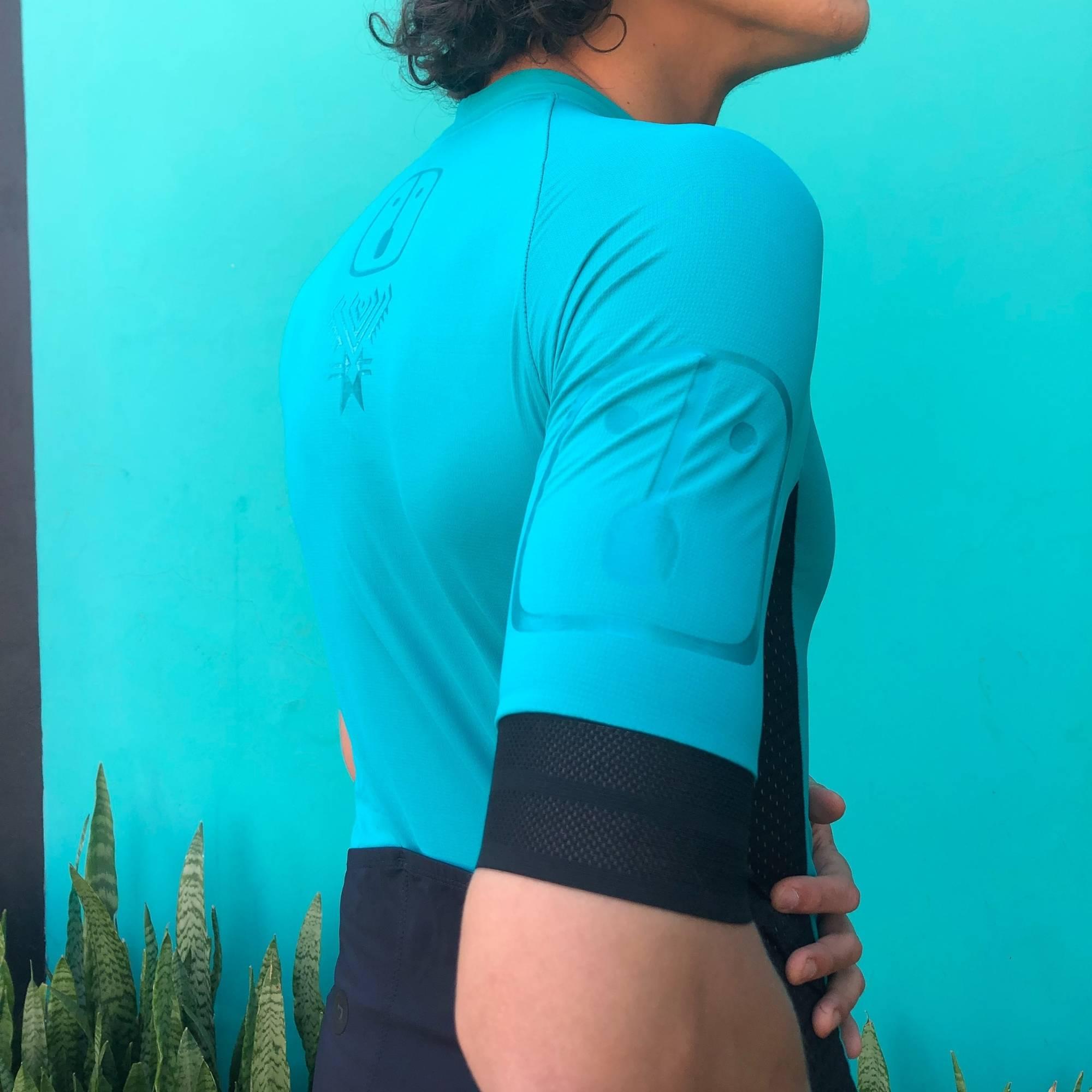 Camisa Ciclismo Racing Evo Jade - Masculina