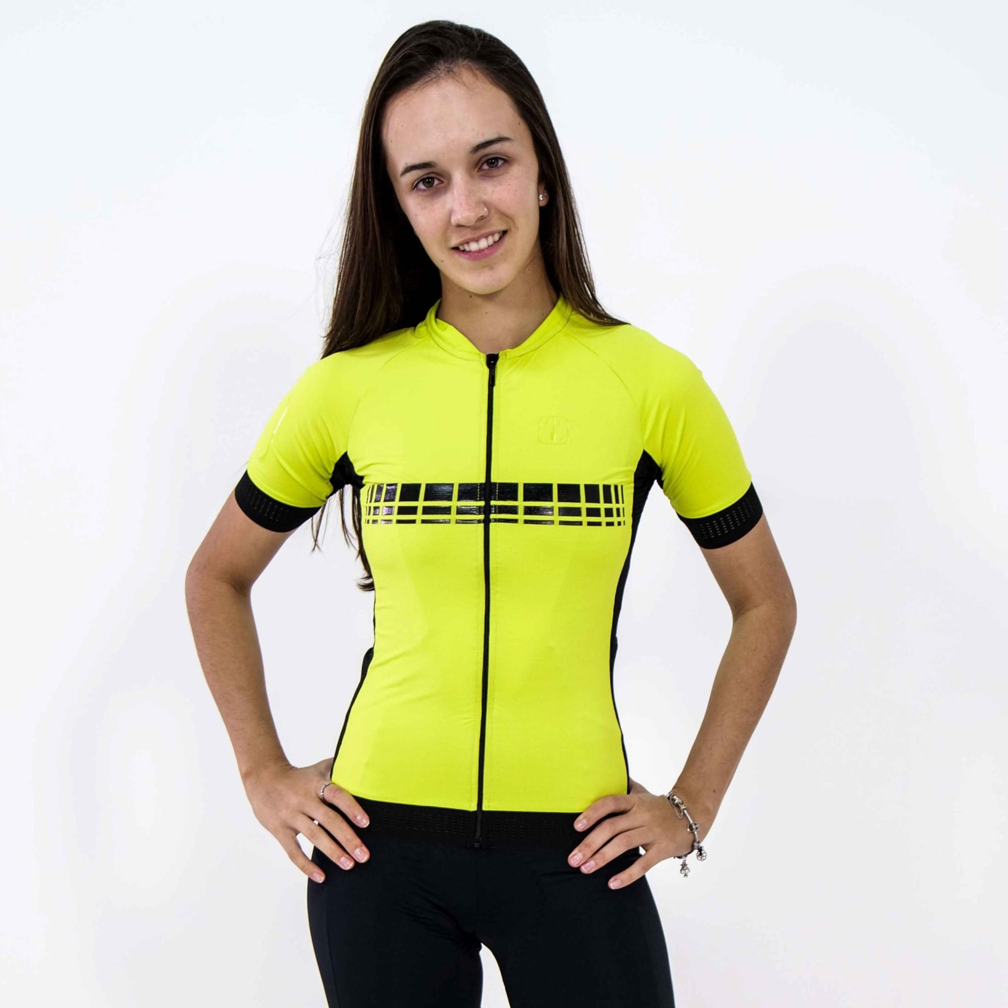 Camisa Ciclismo Racing Evo Lima - Feminina