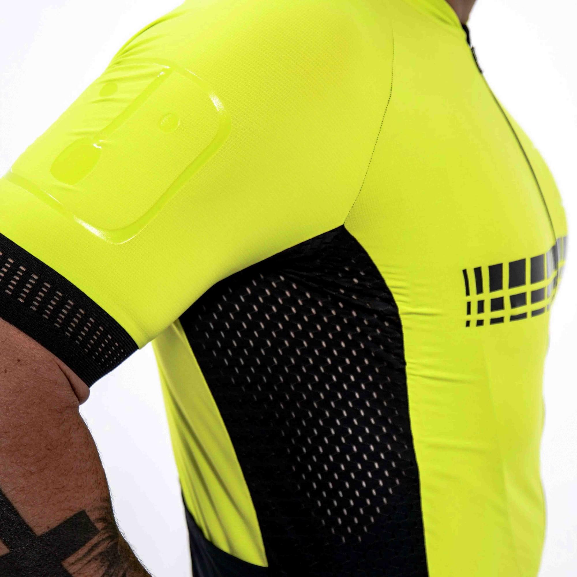 Camisa Ciclismo Racing Evo Lima - Masculina