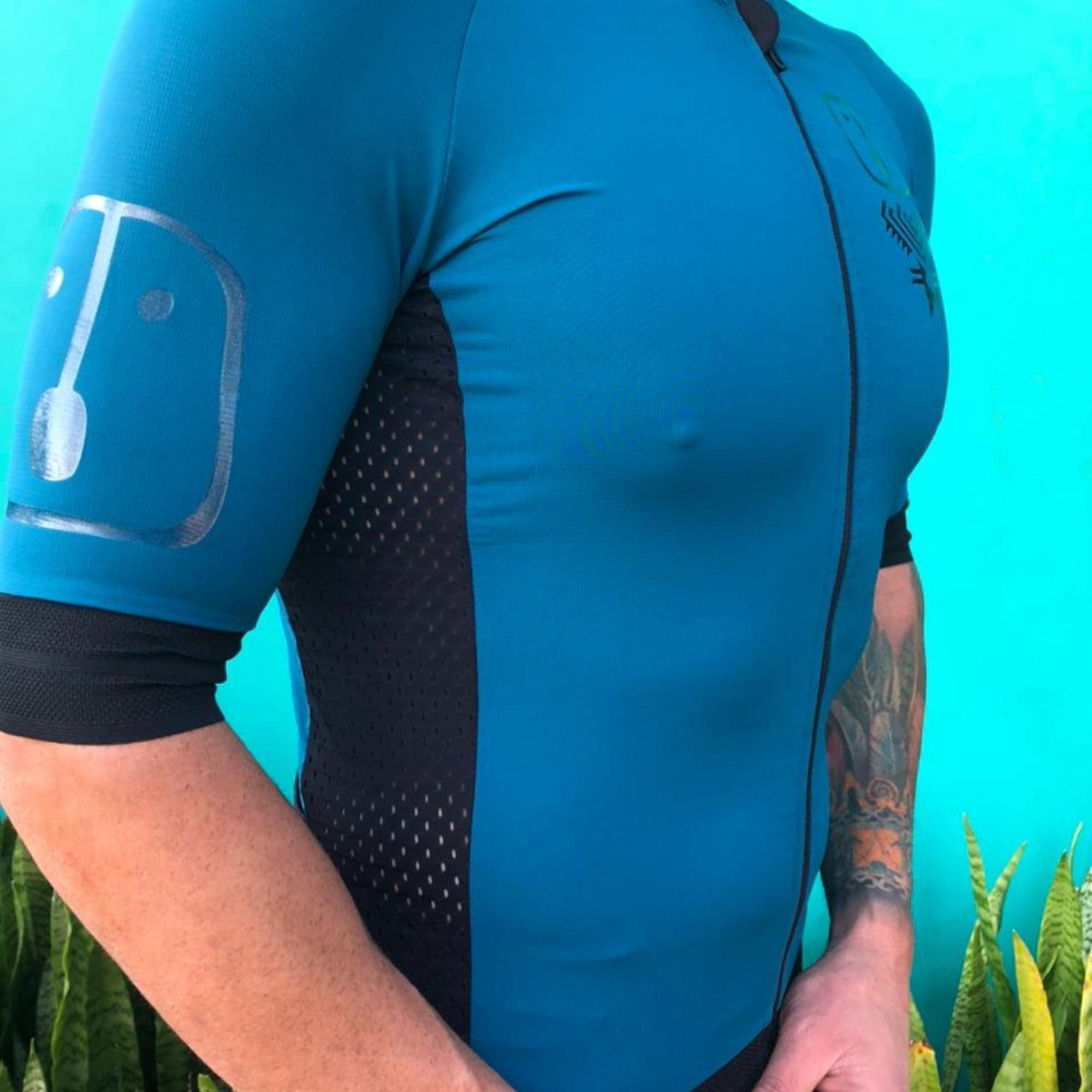 Camisa Ciclismo Racing Evo Olive - Masculina