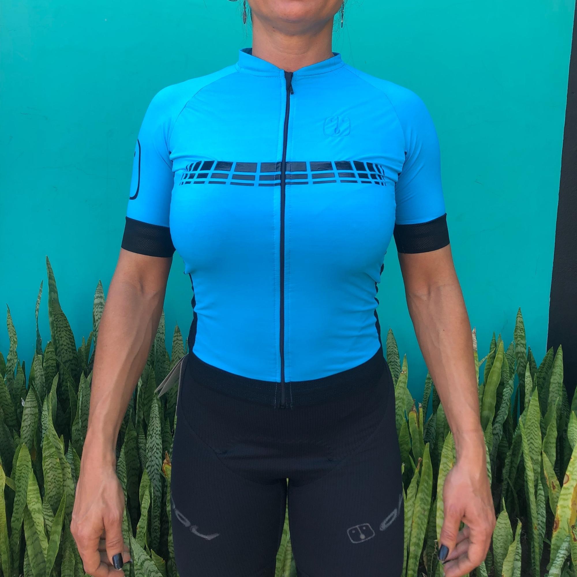 Camisa Ciclismo Racing Sky - Feminina