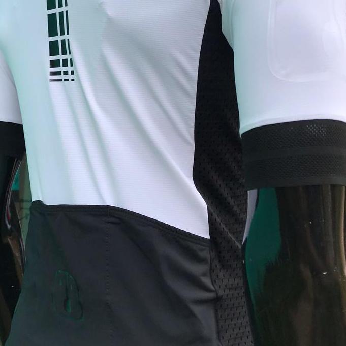 Camisa Ciclismo Racing EVO White - Feminina