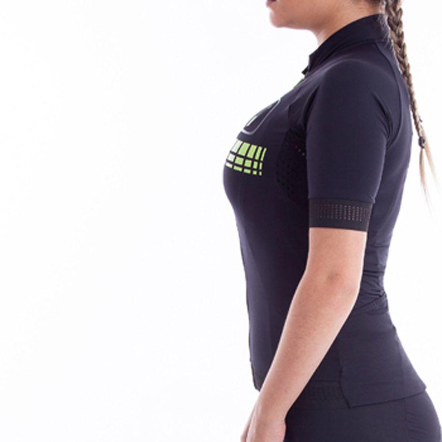 Camisa Ciclismo Racing Neon - Feminina