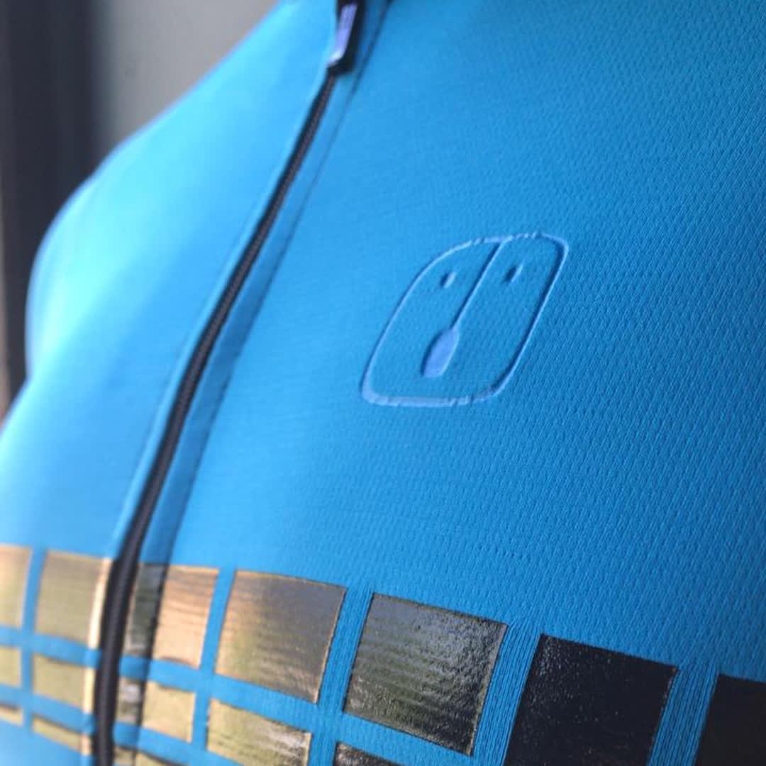 Camisa Ciclismo Racing EVO Sky - Feminina