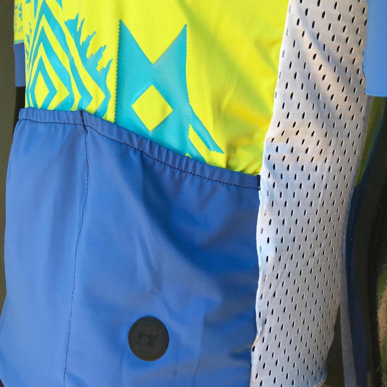 Camisa Ciclismo Racing Warrior Lima - Feminina