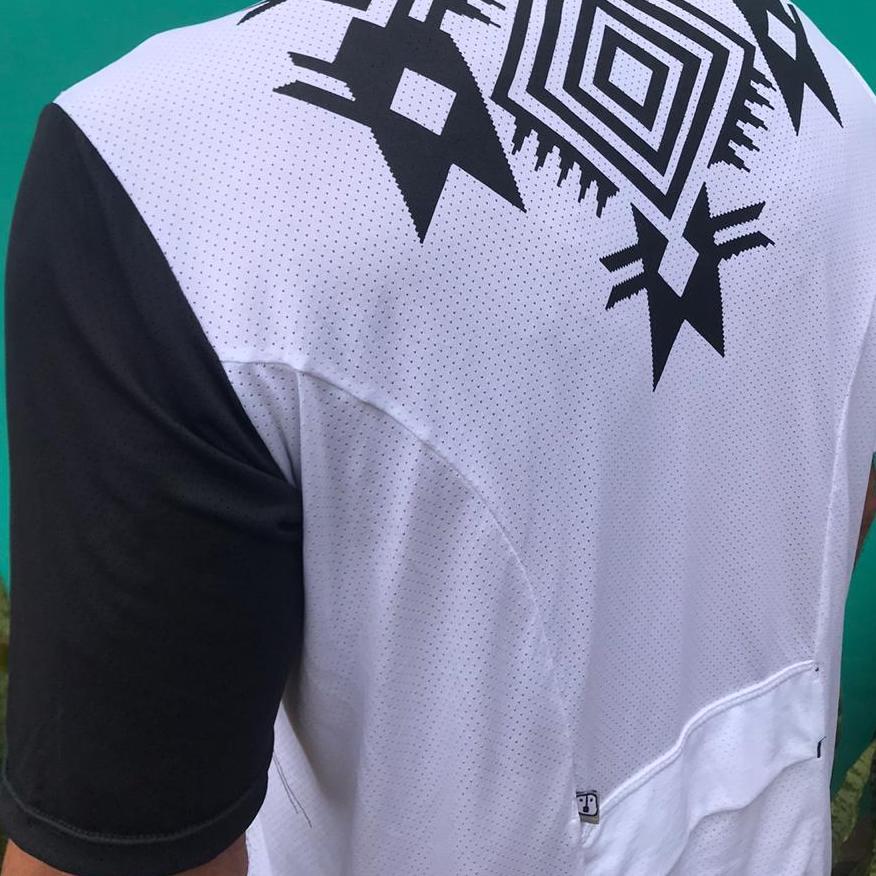 T-Shirt White Enduro - Masculina