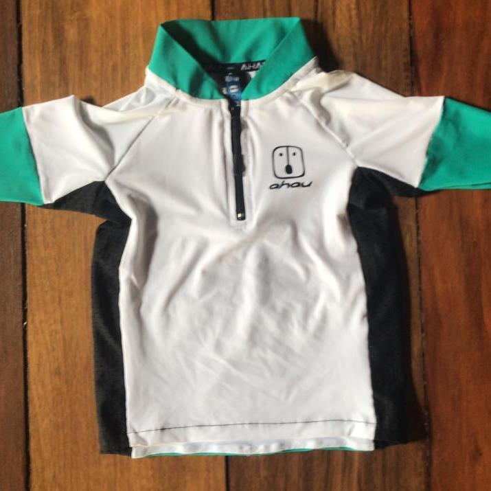 Camisa Ciclismo White / Jade Kid's Unissex