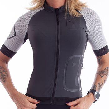 Camisa Ciclismo Colors Chumbo Feminina