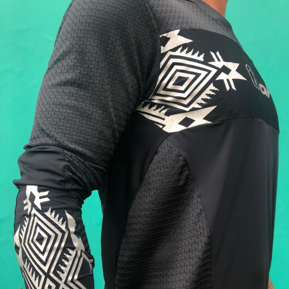 Camisa Enduro Black Warrior M/ Longa - Unissex