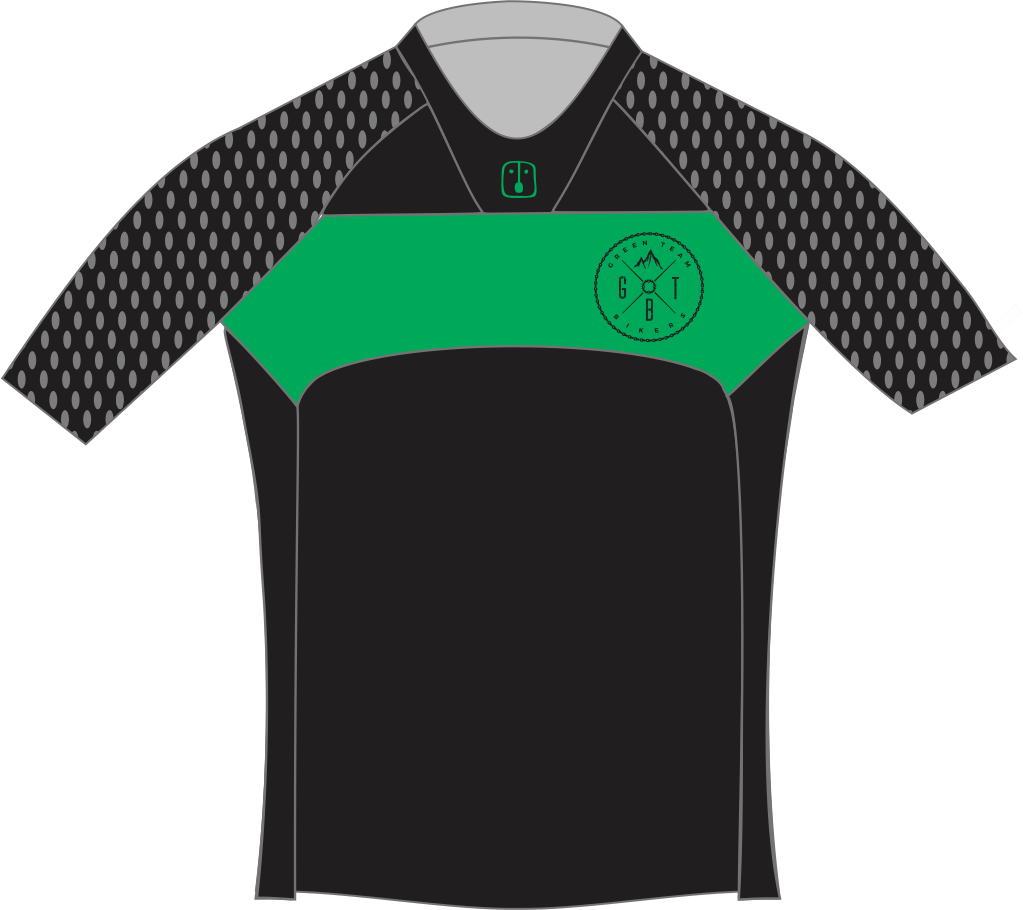 Camisa Enduro Green Team 2019