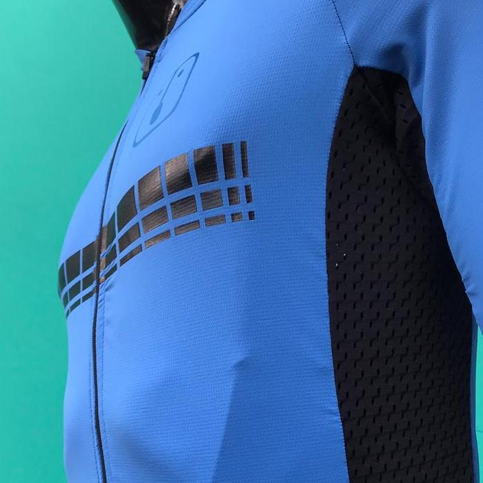 Camisa Ciclismo Racing Evo Blue  - Feminina