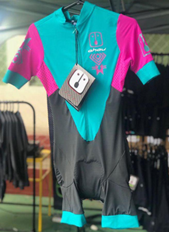 Speedsuit Warrior Jade - Bike Feminino