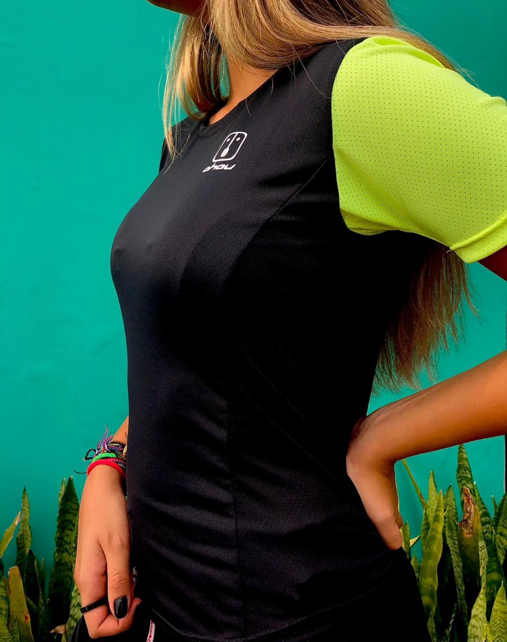 T-Shirt Enduro Black - Feminina