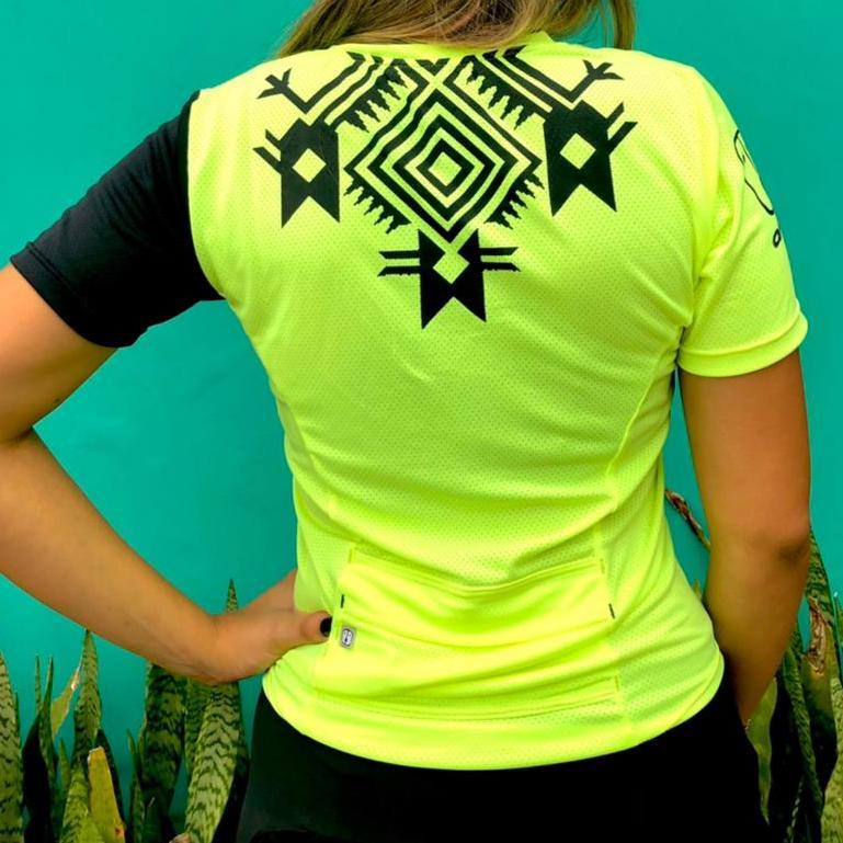 T-Shirt Enduro Neon - Feminina