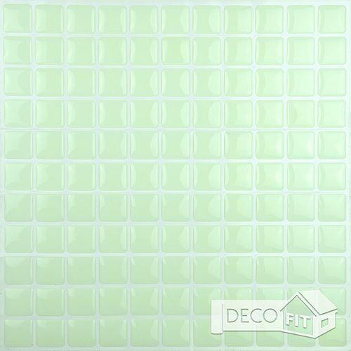 Pastilha Adesiva Colorida Branco (Unitário) 30x30cm