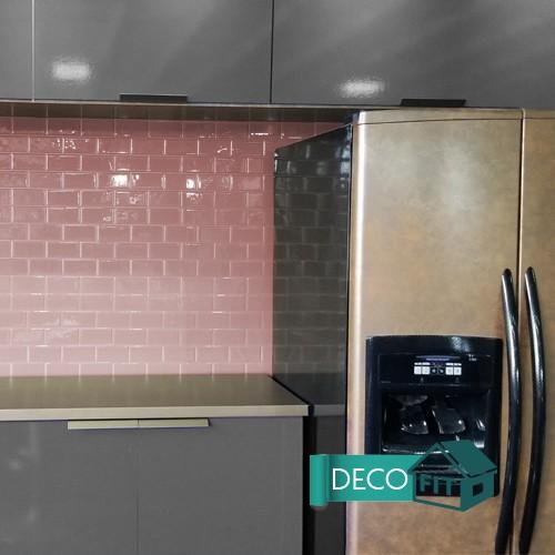 Pastilha Decorativa Adesiva Metro Subway Cobre Vecchio (Unitário) 30x30cm
