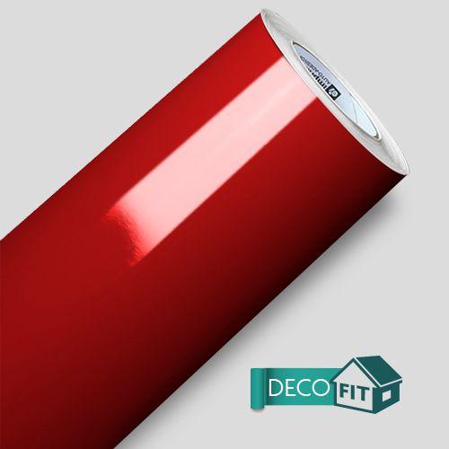 Papel de Parede Adesivo Vermelho Vivo 140 cm de largura