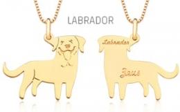 Pingente Mandala Pet Labrador