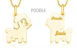 Pingente Mandala Pet Poodle