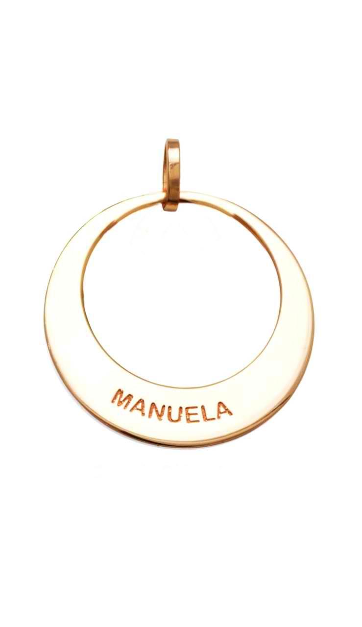 Pingente Mandala com 1 Elo