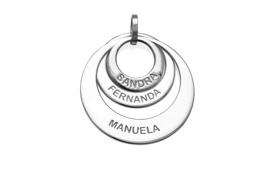 Pingente Mandala com 3 Elos