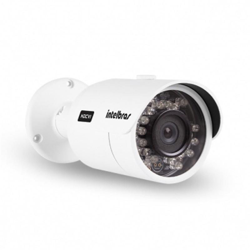 Camera Hdcvi Intelbras Bullet 720p 3.6 Mm 20 Mts Vhd 3120b C Infrav. Branca