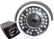 Camera IP Full HD Bullet PoE 1080p 2 mp 3,6mm 40 mt infra Blue iris 32 Leds