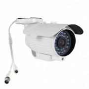 Camera AHD 720p Lente 8mm 1/3 24 Leds IR 40 metros Proteção IP66