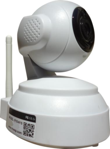 Camera IP Wifi Onvif HD 960p 1.3mp 360º Pan Tilt 4mm c/ Audio