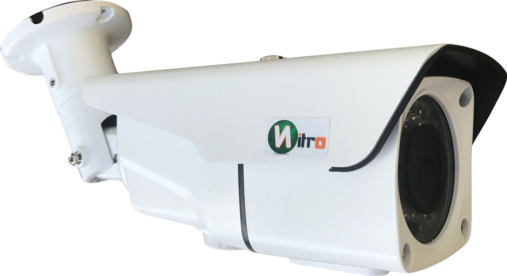 Camera Ip Super Hd 4.0 Mp 1440p 2592x1520 H.265 Onvif  2.4 Varifocal 2,8mm A 12mm Ir 50mt  Ip66 P2p  42 Leds
