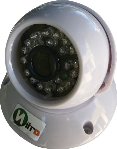 Camera Ip Dome Full Hd 2.0 Mp 1080p Onvif 2.4 3,6mm Ir 30mt P2p Plastico 24 Leds H.264