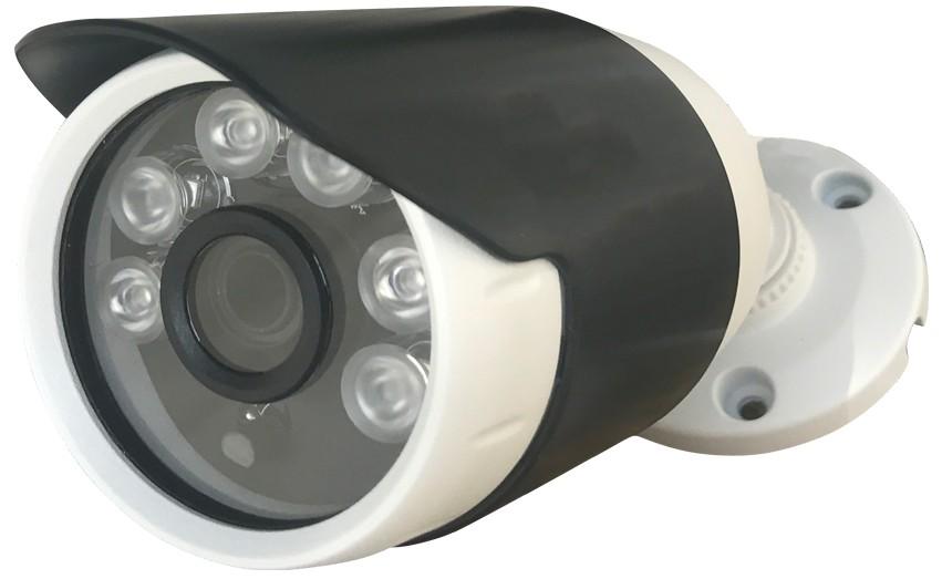 Camera Bullet HD 720p 1 Megapixel 4 em 1 Lente de 3,6mm AHD CVI TVI CVBS