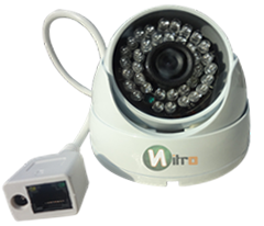 Camera Ip Onvif Hd Dome 1.3 Mp 960P 3.6mm 36 Leds 40mt IP66  Em Aluminio Anti-vandalismo