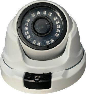 Câmera IP Dome 1.3 Megapixels 960P Lente de 2,8mm 18 Leds SMD Infravermelho 25 Metros Proteção IP66